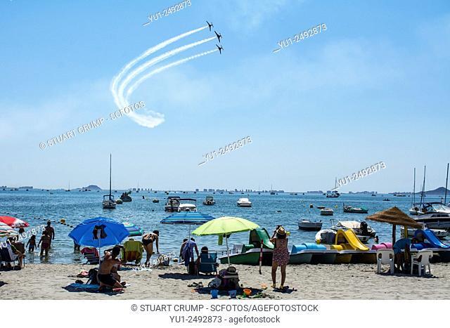 Air Display over Los Alcazares Beach