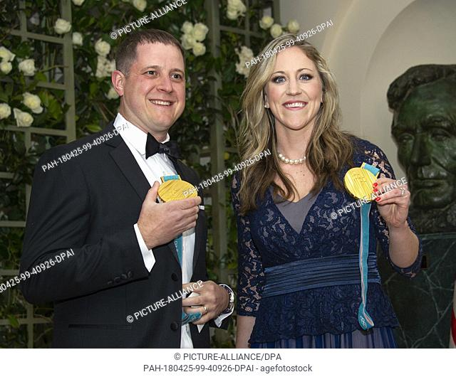John Shuster, an American curler who led team USA to gold at the 2018 Winter Olympics, and Meghan Duggan, a three time ice hockey Olympic champion