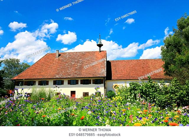 Leprosenhaus in Bad Wurzach is a city in Bavaria, Germany, with many historical attractions