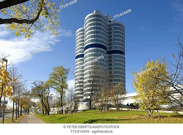 BMW company headquarters. Bavaria. Germany