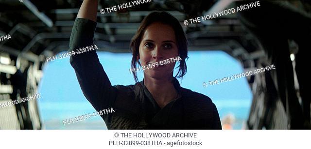 Felicity Jones in Rogue One: A Star Wars Story (2016)