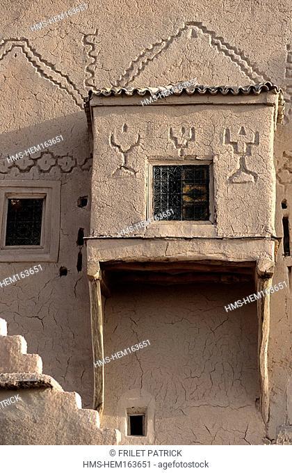 Morocco, Ouarzazate, the Taourirt Kasbah