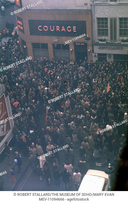 Chinese New Year - Chinatown - Soho, London - February, 1973
