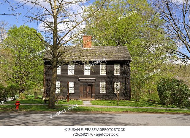 Allen House, HIstoric Deerfield, Old Deerfield, Massachusetts, United States