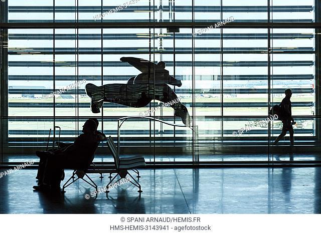 France, Haute Garonne, Blagnac, Airport, Inside the international airport of Toulouse Blagnac