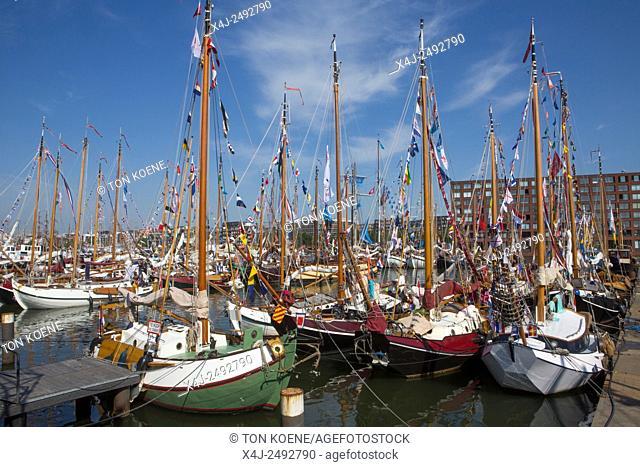 historic boats at Sail 2015 in Amsterdam