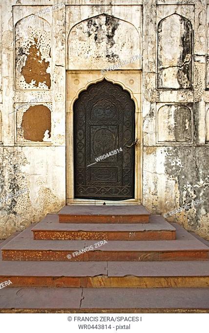 Ornate Door in Red Fort