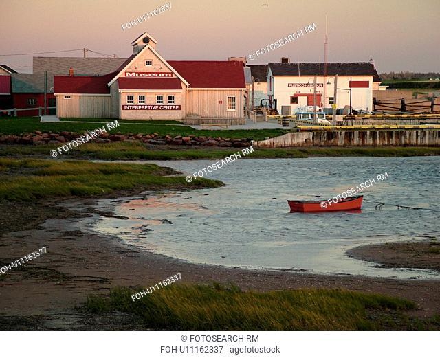 Canada, Prince Edward Island, Queens County, Gulf of Saint Lawrence, North Rustico, fishing village, harbor
