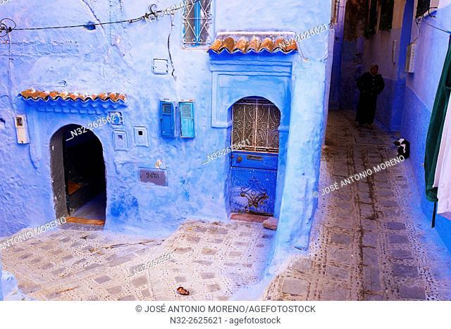 Chefchaouen, Xaouen, Medina, Rif region, Morocco, North Africa