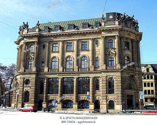 Munich, Bavaria, GER, Germany: The bavarian stock in Munich
