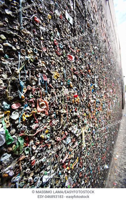 Bubblegum alley, san luis obispo,California