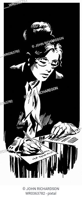 1970s Secretary