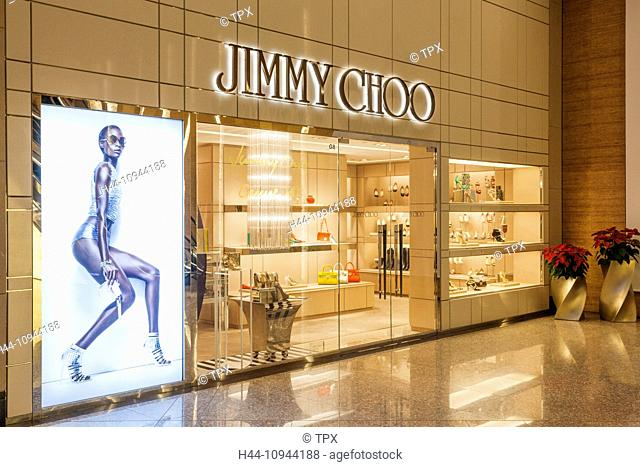 China, Hong Kong, Hongkong, Central, Landmark Shopping Mall, Jimmy Choo Retail Store
