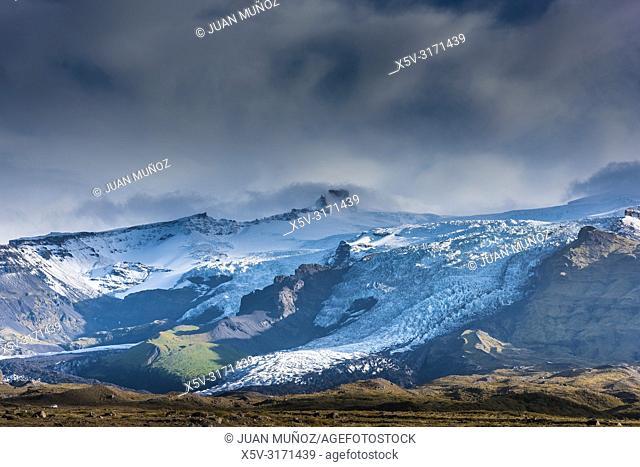 Sveitarfélagið Hornafjörður glacier. Southern region. Iceland