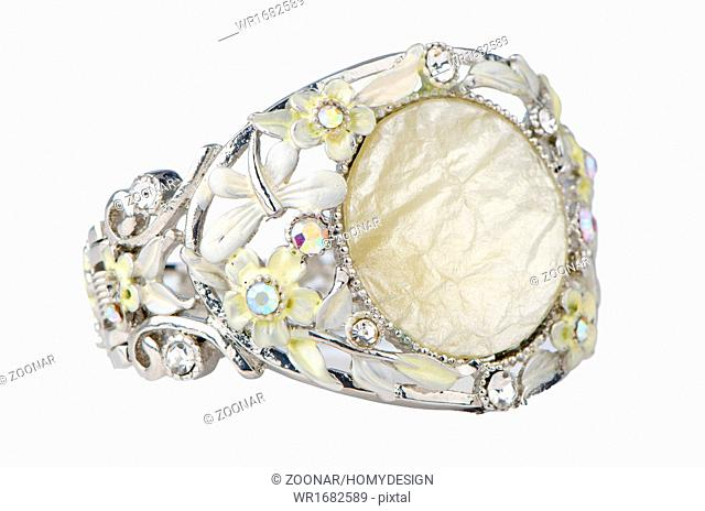 Ring with gemstones