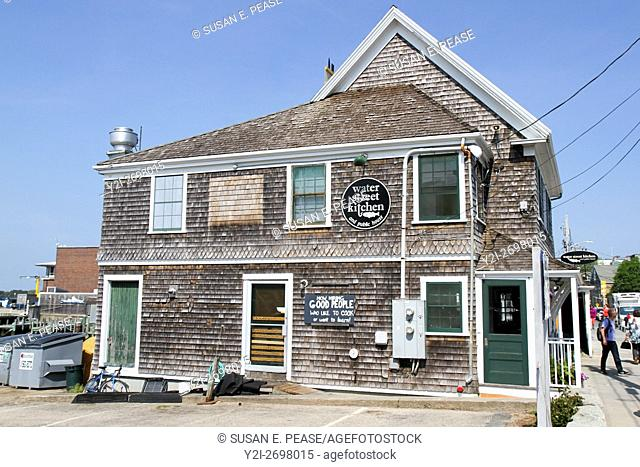 Water Street Kitchen and Public House, Woods Hole, Falmouth, Cape Cod, United States, North America