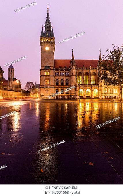 Braunschweiger Rathaus Braunschweig (Brunswick), Lower Saxony, Germany
