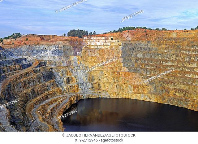 Corta Atalaya.Riotinto Mines.Huelva province.Andalusia.Spain