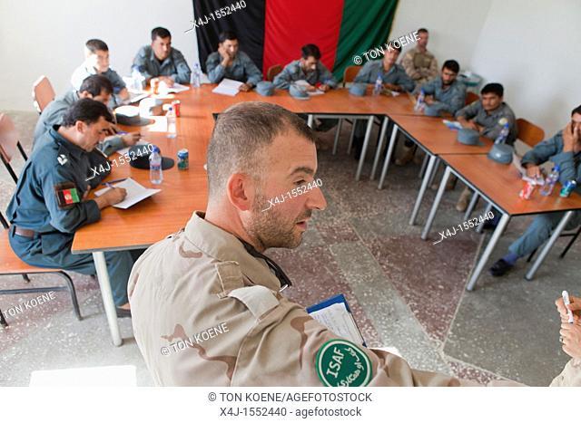 Police training centre in Kunduz, Afghanisan