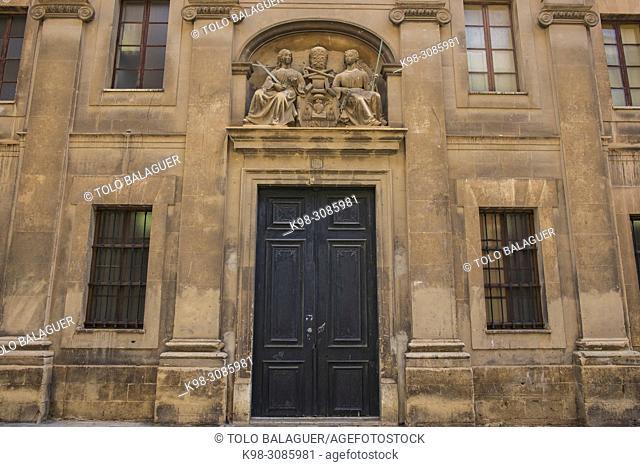 colegio Agustinos, neorenacentista, siglo XIX, Palma, Mallorca, balearic islands, Spain