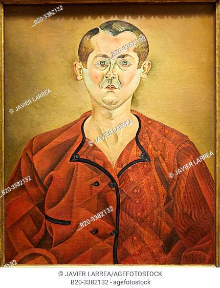 """""""Autoportrait"""", 1919, Joan Miró, Picasso Museum, Paris, France, Europe"""
