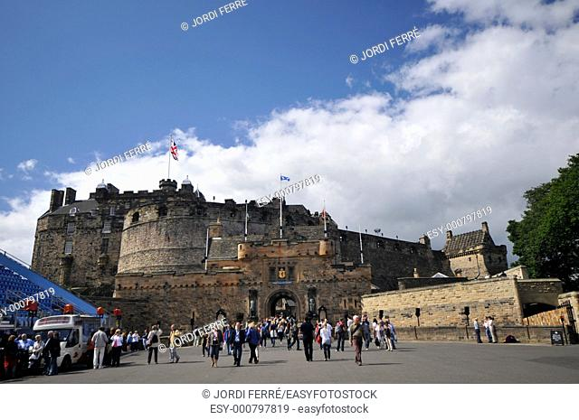 Castle Esplanade, Edinburgh, Scotland, United Kingdom, Europe