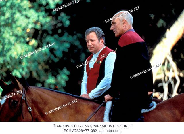 Star Trek Generations  Year: 1994 USA Patrick Stewart, William Shatner  Director: David Carson. It is forbidden to reproduce the photograph out of context of...