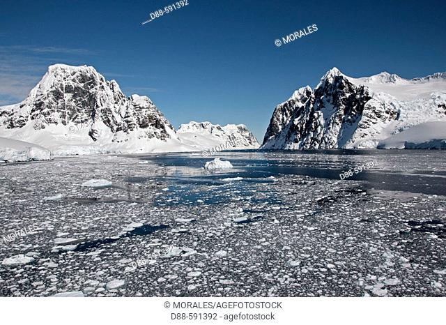 Lemaire channel. Antarctica
