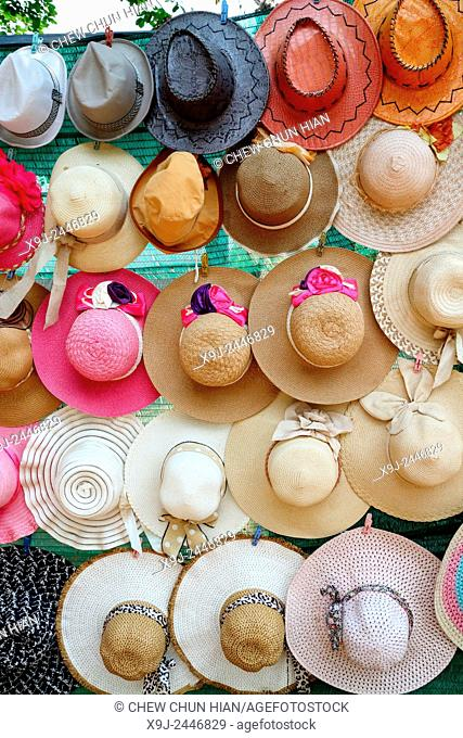 Hats for sale, Siem Reap, Cambodia