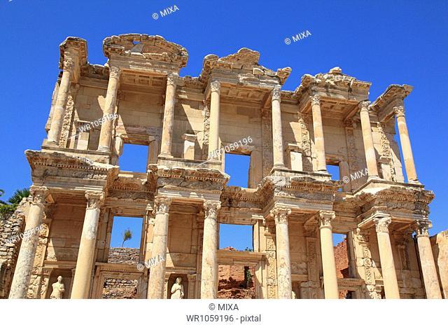 Library of Celsus in Ephesus, Selcuk, Izmir, Turkey