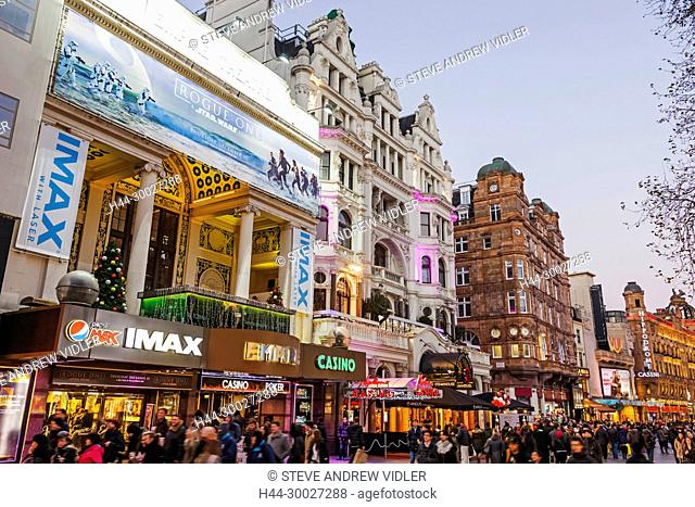 England, London, Leicester Square