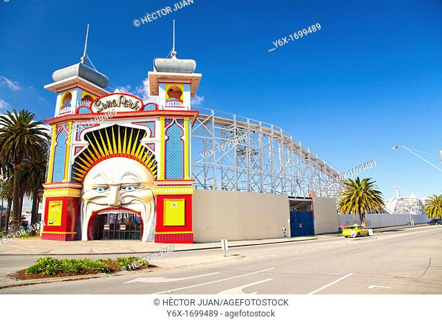 The Melbourne's Luna Park