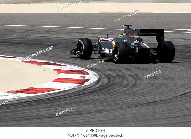 Race, Bruno Senna, HRT Cosworth, 14/03/10, Grand Prix, Bahrain, Persian Gulf