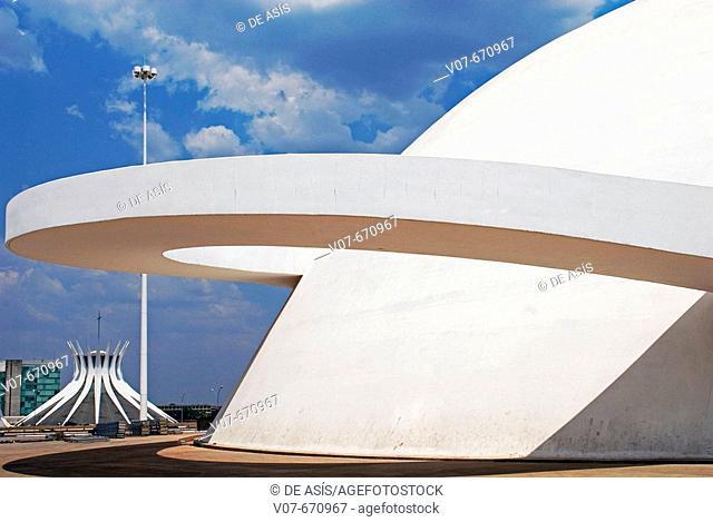 National Museum, Brasilia. Brazil