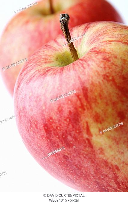 Close up detail of apples