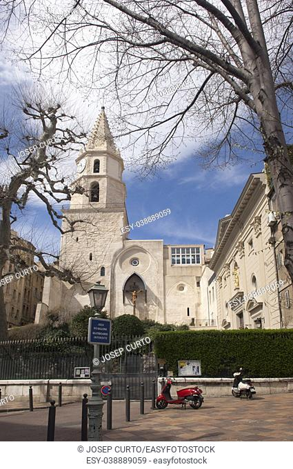 Notre Dame des Accoules church Marseille, French Riviere,