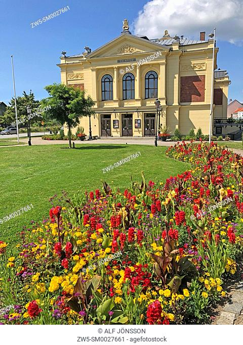 The theatre in Ystad, build 1894, Scania, Sweden