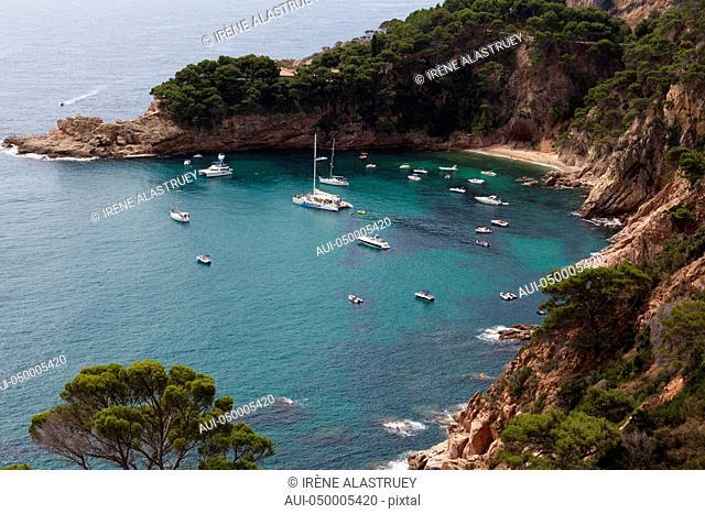 Spain - Costa Brava - Cala between Sant Feliu de Guíxols and Tossa de Mar