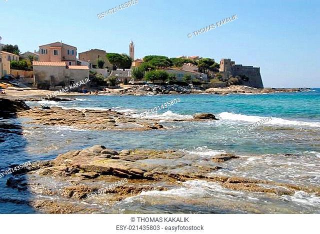 Algajola auf Korsika