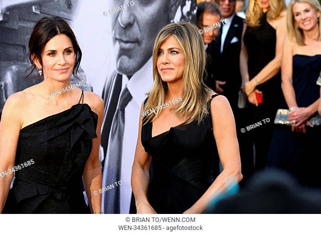 Celebrities attend 46th AFI Life Achievement Award Gala Tribute honoring George Clooney at Dolby Theatre. Featuring: Courteney Cox