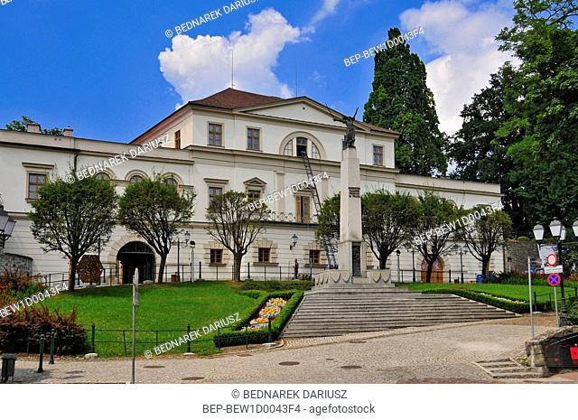 Habsburg Palace from the 19th century at Castle Hill. Cieszyn, Silesian Voivodeship, Poland