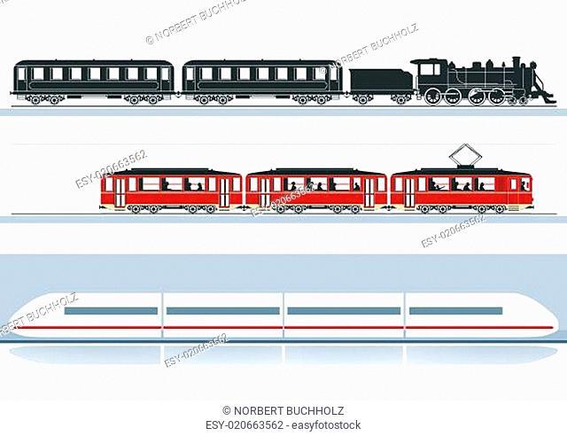 drei Eisenbahnen
