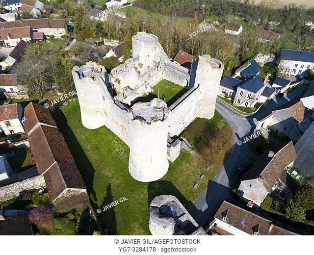 Yevre-le-Chatel in Yevre-la-Ville, Loiret, Centre-Val de Loire, France