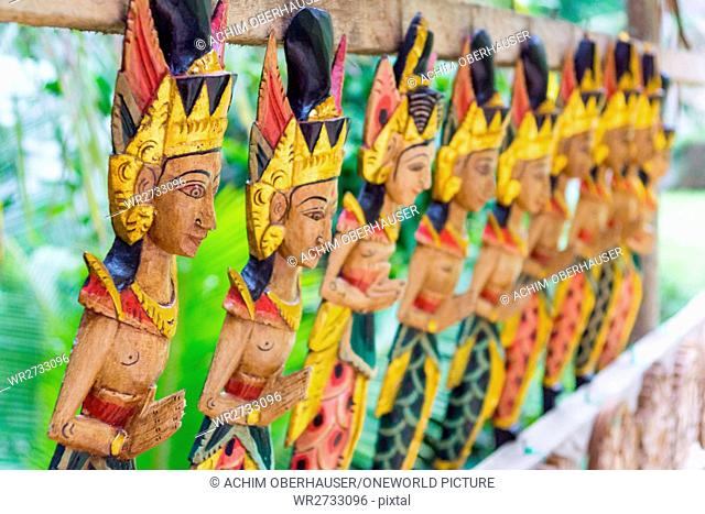 Indonesia, Bali, Gianyar, Souvenir, Pura Gunung Kawi, Banjar Penaka is located in the area