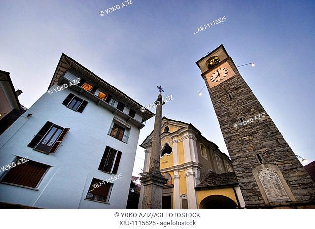 Mergoscia, Canton Ticino, Switzerland