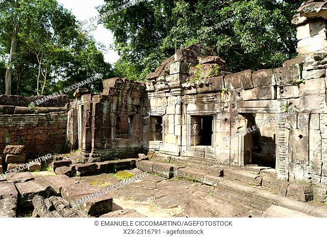 Preah Khan, UNESCO World Heritage Site, Angkor, Siem Reap,Cambodia, Indochina, Southeast Asia, Asia