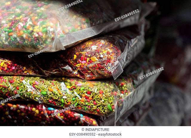 Close up of sounf seeds