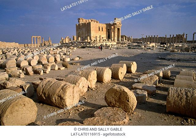 Palmyra was an important trading city and city state from the 1st century AD,and has many fine archaeological and historic sites
