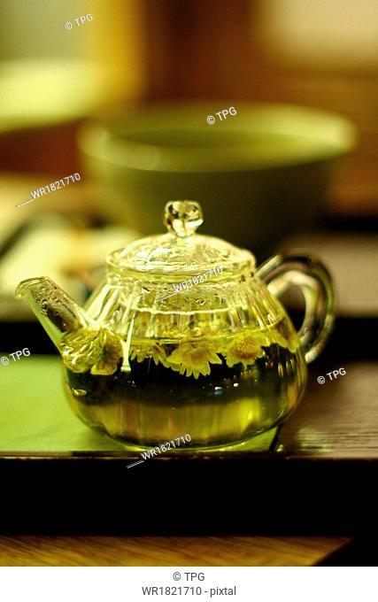 tea set in Insadong