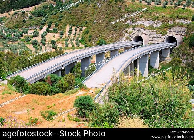 Autobahnruine - highway bridge to nowhere 02